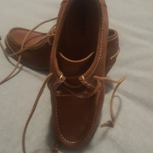 Sperry suede wedge chukka boots